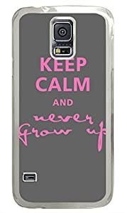 Keep Calm 89 PC Transparent Hard Case Cover Skin For Samsung Galaxy S5 I9600