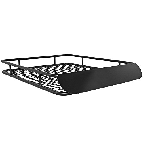 Apex Steel Roof Cargo Basket with Wind Fairing
