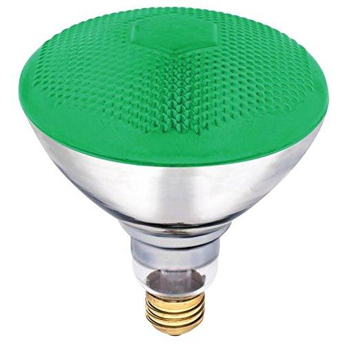 Westinghouse Lighting 0441300, 100 Watt, 120 Volt Green Incandescent BR38 Light Bulb - 2000 Hours