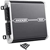 Kicker 41DXA1252 D-Series 2 Channel 120 Watt Full-Range 2 Channel Car Amplifier with Built In KickEQ Crossover For Sound Customization
