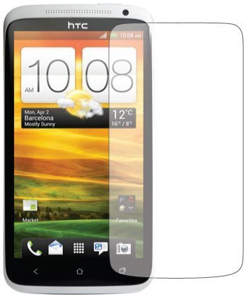 TOOGOO 2x HTC ONE X (AT&T) Premium Invisible Clear LCD Screen Protector Cover Guard Shield Protective Film Kit (2 pieces)