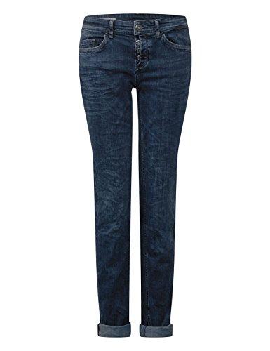 Wash Blue Authentic Street One Straight Donna dark 11168 Blu Jeans Rw0q8YR