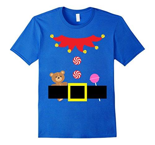 Mens Christmas Cute Elf Outfit Suit Costume Tween Teenage Girls XL Royal Blue (Diy Halloween Costume Ideas For Tweens)