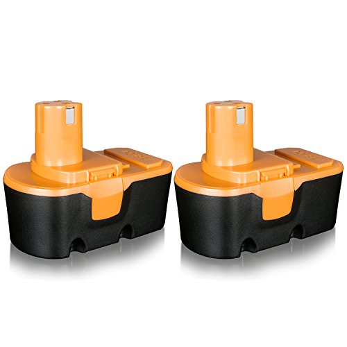 FLAGPOWER 2 Pack 18V 3.0Ah Replacement Battery for Ryobi One Plus P100 P101 ABP1801 1322401 1400672 13022 Cordless Power Tool