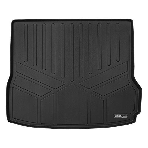 SMARTLINER All Weather Custom Fit Cargo Trunk Liner Floor Mat Black for 2009-2017 Audi Q5 (No Hybrid) / 2014-2017 SQ5