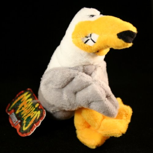 PETER GOTTA PEAGULL * MEANIES * Series 1 Bean Bag Plush Toy From The Idea - Mall Killen