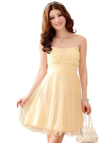 HOT selling Cocktail Prom Kleid Abendkleid trägerlos Kleid ...
