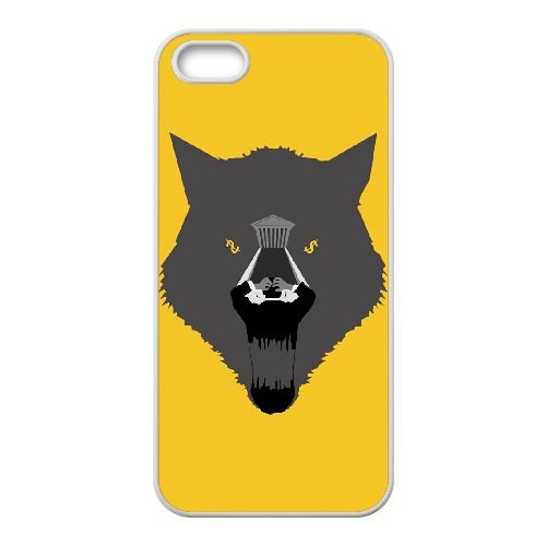 Wolf Of Wall Street 001 2 coque iPhone 4 4S cellulaire cas coque de téléphone cas blanche couverture de téléphone portable EOKXLLNCD20760