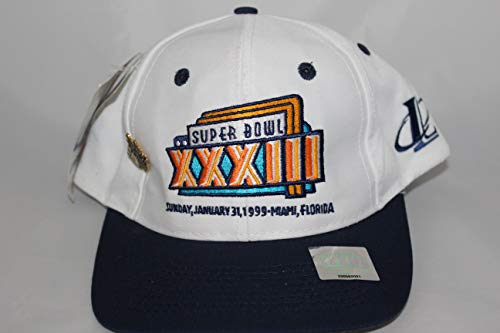 Amazon.com: Logo Athletic Super Bowl XXXIII Miami 1999 ...