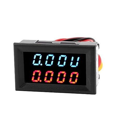 DC 0-300V 0-2A LED dual digital de potencia de la batería probador del amperímetro del voltímetro - - Amazon.com