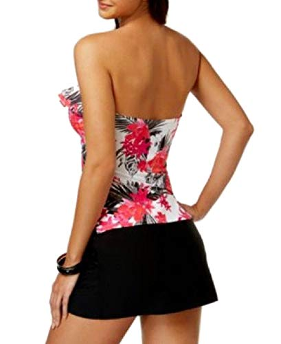 f6ba3cc7f0 Amazon.com: Island Escape La Palma Crossover Swim Skirt Black Size 14:  Clothing