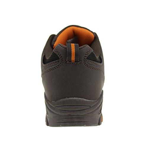Hawkwell Zapatos de Deporte y aire libre ,zapatillas de senderismo para unisex Marrón