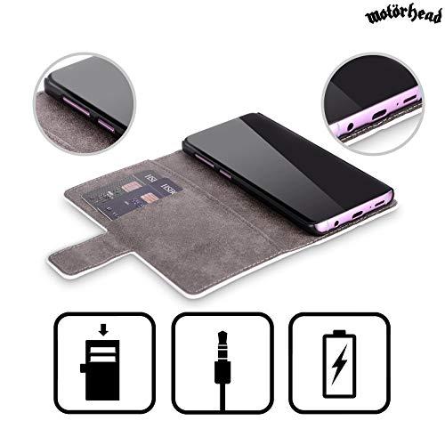 Étui Bad Livre Galaxy Pour Motorhead Cuir Samsung D'album Couvertures S8 Officiel De Plus Aftershock S8 En Coque Magic XgBq85