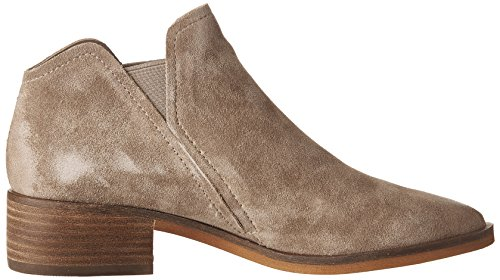 Dolce Vita Women's Tay Ankle Boot, Anthracite Dark Taupe Suede