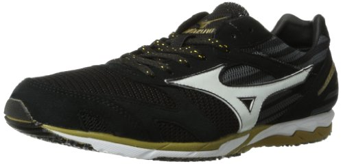 Mizuno Wave Ekiden Running Shoe,Black,7 D US