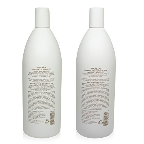 Surface Awaken Therapeutic Shampoo & Conditioner Duo - 1 Liter Bottles by SURFACE (Image #1)