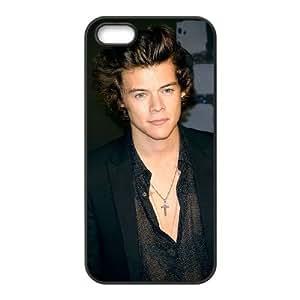 Estilos F9V86 Harry D8K5HG iPhone funda 5 5s funda caja del teléfono celular cubren DH5DPQ4TJ negro