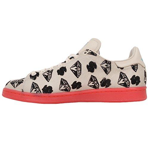 adidas Sneaker Uomo White, Red