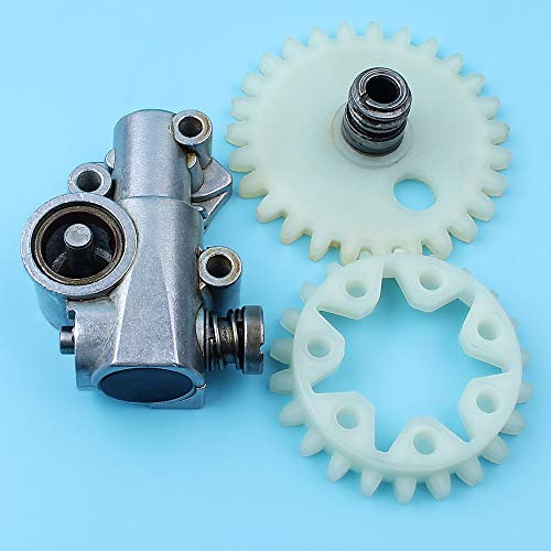Laliva tools - Oil Pump Oiler Worm Gear Spur Wheel Kit For Stihl 038 MS380 MS381 038AV 038 SUPER MAGNUM Chainsaw Engines Parts # 1119 640 3200