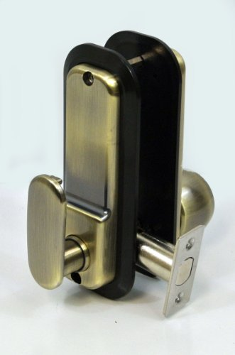 Anaconda All Weather Mechanical Keyless Deadbolt Door Lock