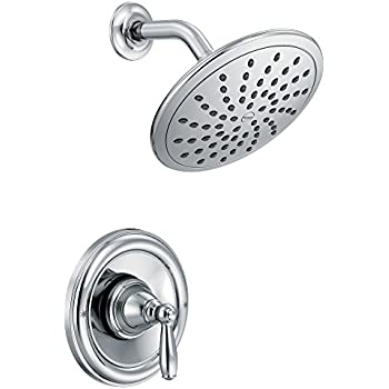 Moen T2252ep Brantford Shower Only System With Rainshower Showerhead Without Valve Chrome