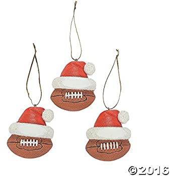 Amazon.com: Football Ornaments (12 Ornaments per Order