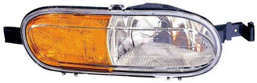 Depo 335-1409R-US Buick Rainier/Oldsmobile Bravada Passenger Side Replacement Corner/Side Marker Lamp ()
