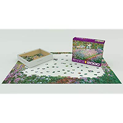 EuroGraphics The Artist's Garden by Claude Monet Puzzle (2000 Piece): Toys & Games
