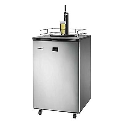 Versonel VSL155TDSS LCD Temp Full Keg Kegerator Beer-Meister