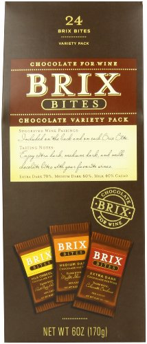 Brix Chocolate for Wine Assorted Bites (Pack of 3)