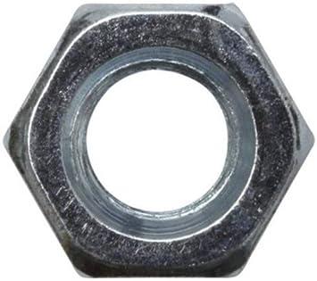 Tuercas hexagonales 10 unidades, DIN 934, ISO 4032, galvanizadas