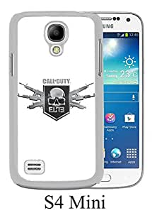 Call of Duty Modern Warfare Logo White Unique Abstract Custom Samsung Galaxy S4 Mini Case