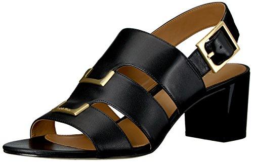 Neda Klein Calvin Black Gladiator Sandal Women's fYanwvqB8