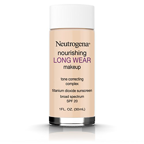 Neutrogena Nourishing Long Wear Liquid Makeup Foundation With Sunscreen, 30 Buff, 1 Fl. Oz.
