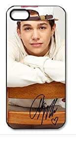 Austin Mahone Signed HD image case cover for iphone 5 black A Nice Present by mcsharks