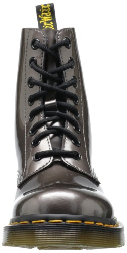 Spectra Stivali Patent Martens Argento Dr Argent Patent Spectra PEWTER PASCAL donna Pewter qTXCw