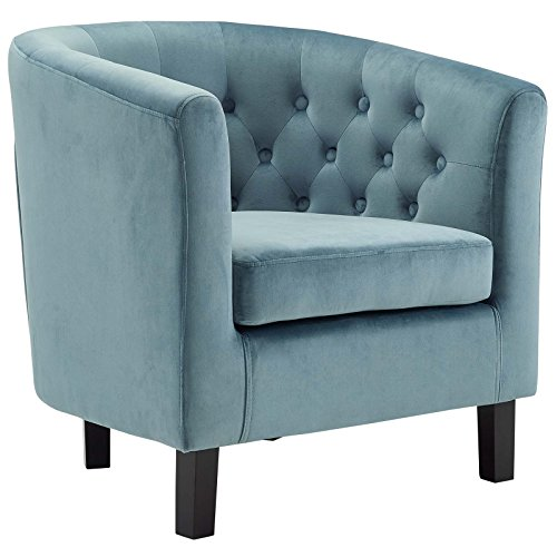Modway EEI-2613-SEA Prospect Upholstered Velvet Contemporary