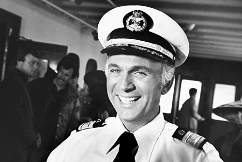 The Love Boat Featuring Gavin Macleod as Captain Merrill Stubing 24x18 -