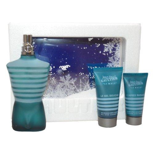 - Le Male Men Eau-de-toilette Spray, All Over Shower Gel, Soothing After Shave Balm by Jean Paul Gaultier