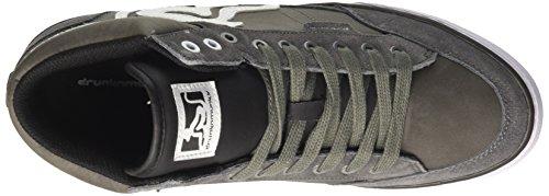 DrunknMunky Boston Classic, Chaussures de Tennis Homme, Bleu Gris (Gray-black 006)