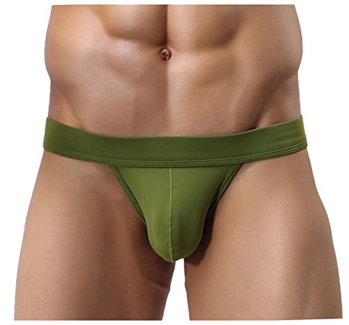 Men's Briefs Sexy Seamless Underwear Low Rise Bikini Bulge Enhancing