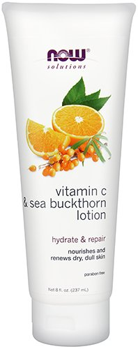 Now Foods Vitamin C and Sea Buckthorn Body Lotion, 8 Ounce