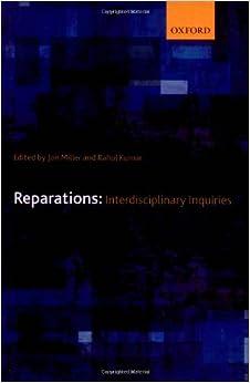 Reparations: Interdisciplinary Inquiries