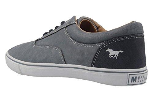 Mustang 4101-303-875, Zapatillas para Hombre Azul