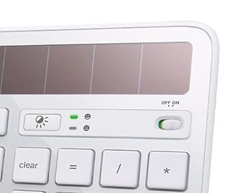 Logitech K750 Wireless Solar Keyboard For Mac — Solar Recharging, Mac-friendly Keyboard, 2.4ghz Wireless - Silver 3