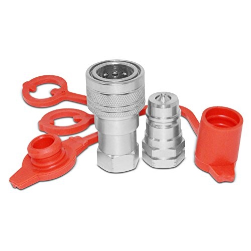 "3/8"" Ag Hydraulic Quick Connect Pioneer Style Coupler Set, 3/8"" NPT - Summit An Fittings"