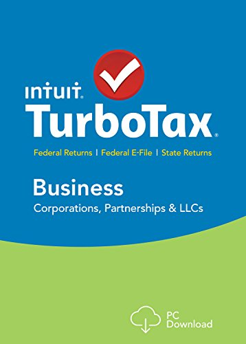 TurboTax Business 2015 Federal + Fed Efile Tax Preparation Software - PC Download [Old Version]