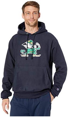 メンズ パーカー・スウェットシャツ Notre Dame Fighting Irish Reverse Weave [並行輸入品]