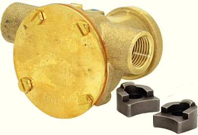Johnson Pump Flange Mount Impeller Cooling Pump 10-35211-5 (Johnson Engine Cooling Pump)