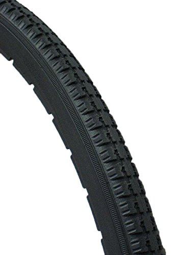 Solid, No Flat Tire 24'' x1 3/8'' (540mm) Dark Grey Color.